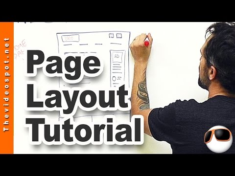 Wordpress Web Design tutorial: designing your top level web page templates