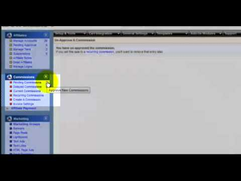 Reversing & Modifying Commissions Using iDevAffiliate