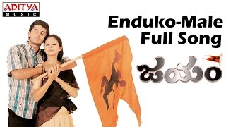 Enduko Male Full Song II Jayam Movie II Nithin, Sadha