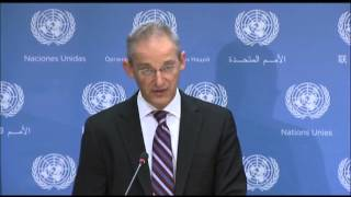 Sunday Briefing by UN Chemical Weapons Team  8/31/ 13