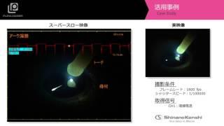 ハイスピードカメラ+データロガー 「アーク溶接」