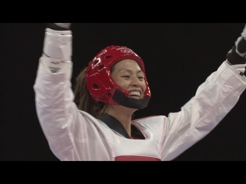 Tseng Wins Women's Taekwondo -57kg Bronze - London 2012 Olympics