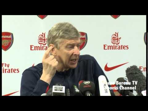 Arsene Wenger pre Arsenal vs Newcastle