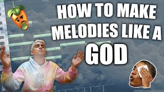 HOW TO MAKE MELODIES LIKE A GOD