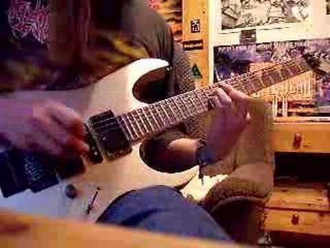 Dragonforce - Fury Of The Storm On D Guitar Without Whammy video