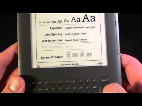 Amazon Kindle 3: Unboxing and Demo