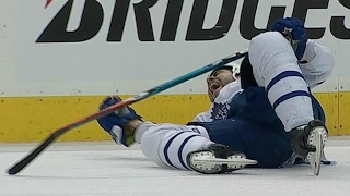 Gotta See It: Polak forced to leave after Orpik hit and brutal fall