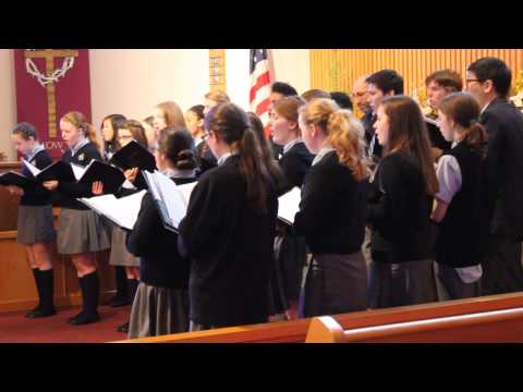 Doane Academy Choir performs at the Masonic Home - April 3, 2014