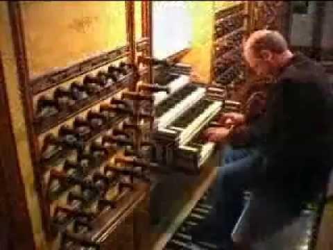 Willem van Twillert plays Johann Sebastian Bach, Schäfe können sicher weiden [Sheep May Safely Graze [BWV208, composed 1713], on the Hinsz-organ at Kampen in the Bovenkerk at Kampen ...