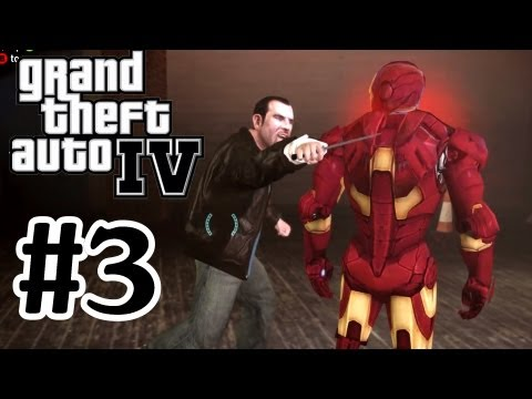 GTA 4 Modded Lets Play Part 3 - PC Very High Settings - Graphics Mods - 1080p IFreeMz