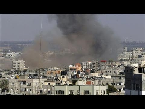 Cease-Fire Talks Suspended in Gaza After Rocket Strike