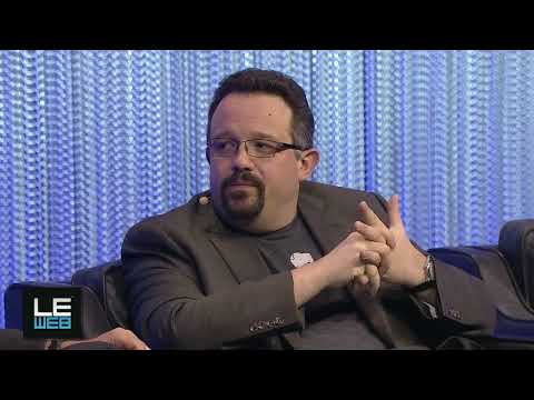 Phil Libin, CEO, Evernote and Loic Le Meur, Co-Founder, LeWeb