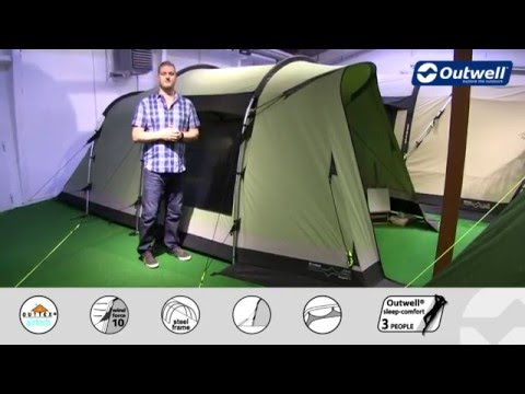 Outwell Newgate 4 Tent - 2016 | Innovative Family Camping