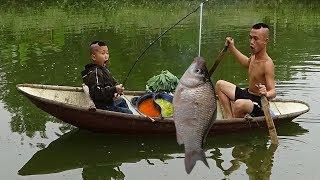 Ăn Lẩu Giữa Ao - Cảm Giác Ẩm Thực Cực Thú Vị Cùng Anh Em Tam Mao