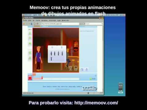 Memoov: crea animaciones de dibujos animados en flash