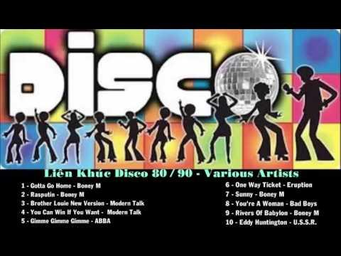 Liên Khúc Disco 80/90 - Various Artists