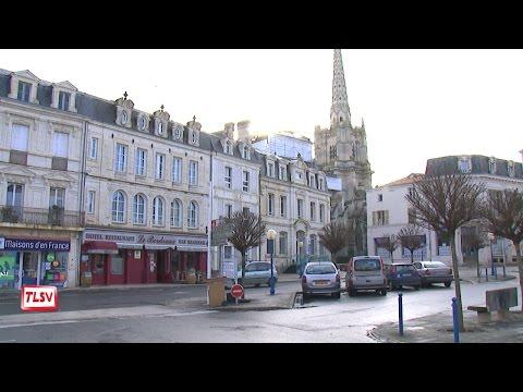 Le futur réaménagement du centre-ville de Luçon
