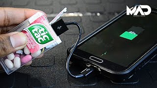Tic-Tac charger (Life hack)