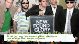 Watch New Found Glory Radio Adelaide video