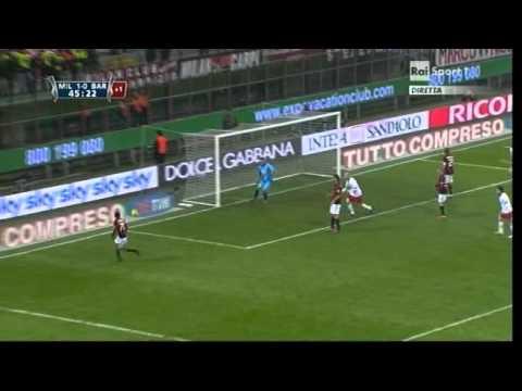 Milan – Bari  OTTAVI Coppa Italia 2010-2011