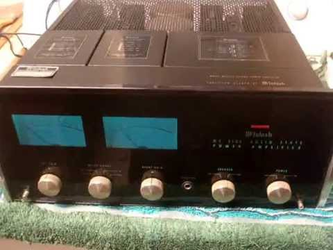 Testing 1976 Mcintosh Mc 2105 Power Amplifier Youtube