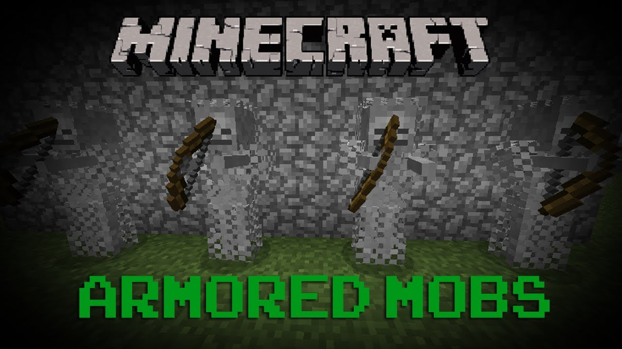 Minecraft Armored Mobs