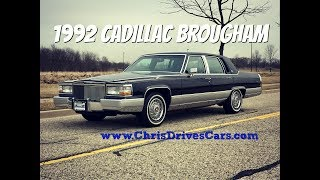"""1992 Cadillac Brougham - """"Chris Drives Cars"""" Video Test Drive"""