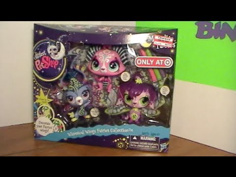 Littlest Pet Shop Whimsical Wings Fairies Collection Moonlite Fairies Review! by Bin's Toy Bin