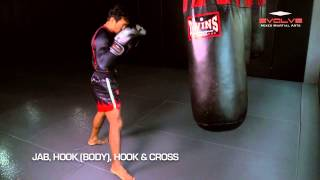 BOXING: 10 Explosive KO Combinations in 30 Seconds! | Evolve University