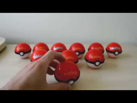 POKEBALL surprise unboxing, great rare POKEMON toys inside✔