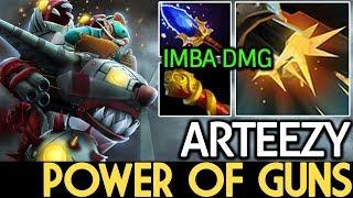 Arteezy [Gyrocopter] Power of Side Guns 7.15 Dota 2