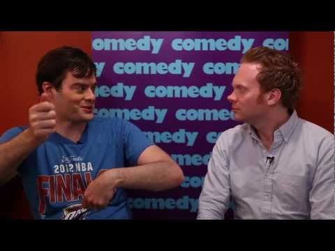 Backstage at Just For Laughs: All Access - Bill Hader on The Apple Store