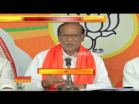 BJP Laxman Fires On TRS Government Over Comments On Central | Raj News Telugu
