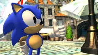 Sonic Generations Escenas en Español