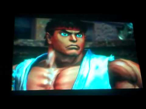 Street Fighter X Tekken - Street Fighter X Tekken 'Ryu, Chun Li vs Kazuya, Nina' Gameplay