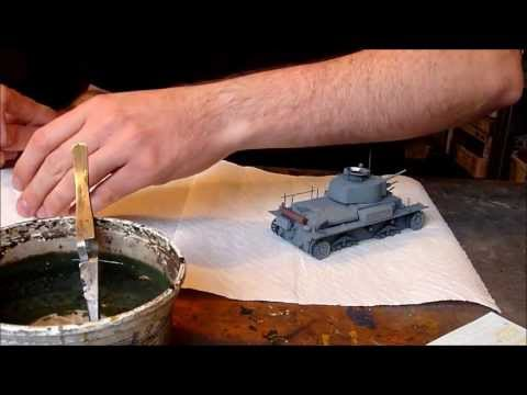 Dragon Panzerkampfwagen 38(t) Ausf. G in 1/35 scale building review Part II