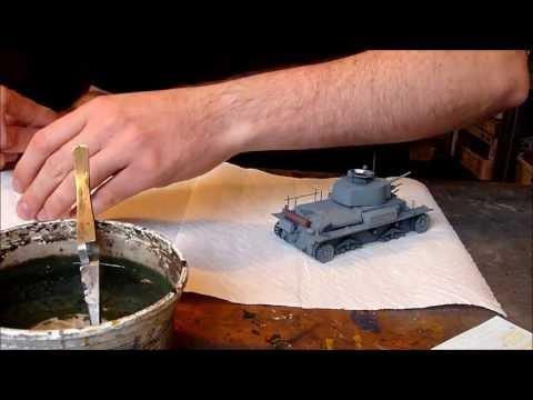 Dragon Panzerkampfwagen 38(t) Ausf. G in 1/35 scale building review Part II