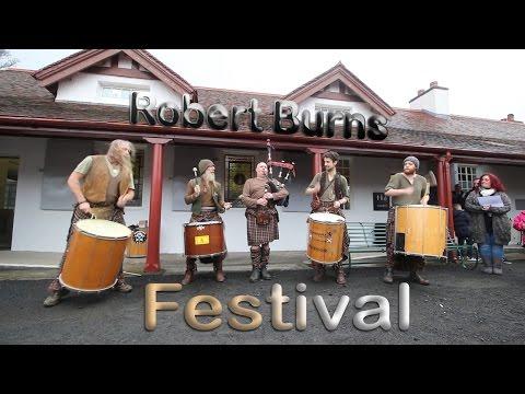 Robert Burns Festival 2016 - Vlog 118 - (01.02.2016)