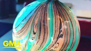 Marbling is the mesmerizing trend we can't stop watching | GMA Digital
