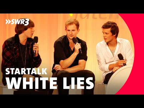 White Lies Interview New Pop Festival 2009