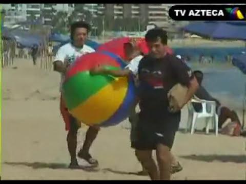 Los Destrampados - La pelota destrampada en Acapulco