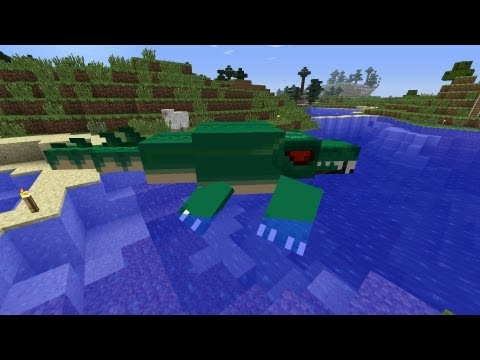 Minecraft Dinosaurs - Part 45 - Allosaurus and Ichthyosaur News!
