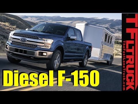 2018 Ford F-150 Five Engines Revealed & Explained including 3.0L Diesel