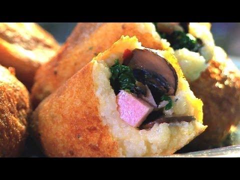 Thanksgiving Leftover Recipe   Potato Croquettes