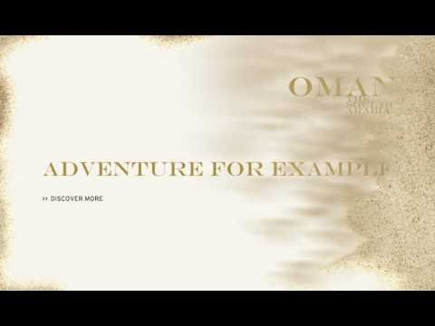Oman Air Destinations Kampagne