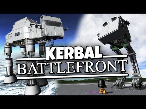 Kerbal Battlefront - Star Wars Walkers