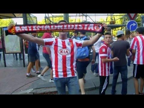 Atletico Fans Celebrate La Liga Triumph On The Streets Of Madrid