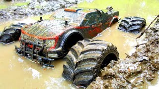 RC Car MUD Racing 4x4 — JLB Racing CHEETAH Monster Truck — RC Extreme Pictures
