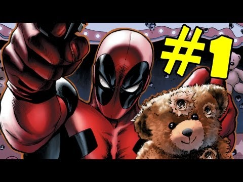 Deadpool Walkthrough Part 1 Gameplay Review Lets Play Playthrough XBOX 360 PS3 PC [HD]