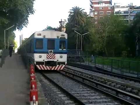 Toshiba Chapa M ingresando a Belgrano R. con destino a Jose L. Suarez (22-09-14)